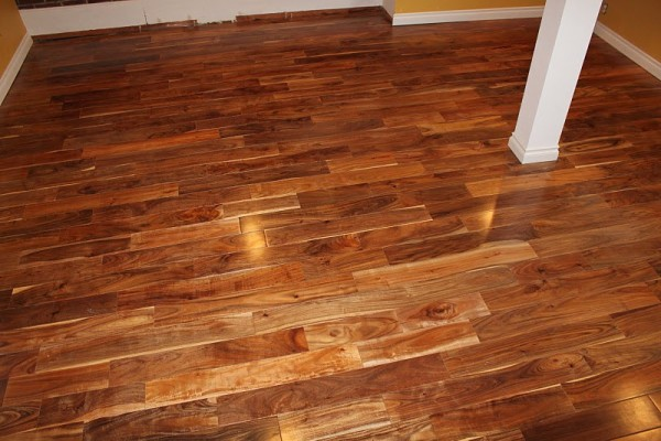 Best prices smooth acacia engineered solid hardwood for Wood flooring illinois