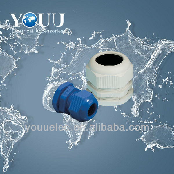 Colours of IP68 nylon waterproof cable gland pg7