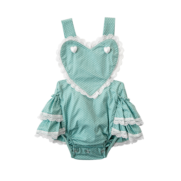 2018 newest designs colorful baby girls romper Fringing String Romper