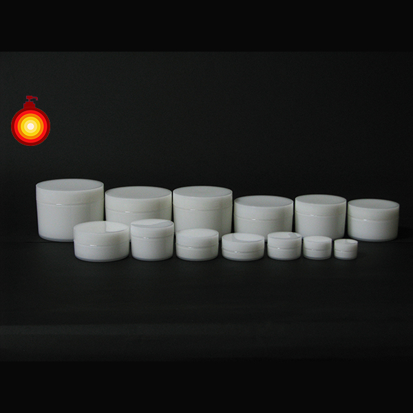 5ml-300ml Taiwan supplier white PP round cosmetic cream jar cosmetic containers face cream jars