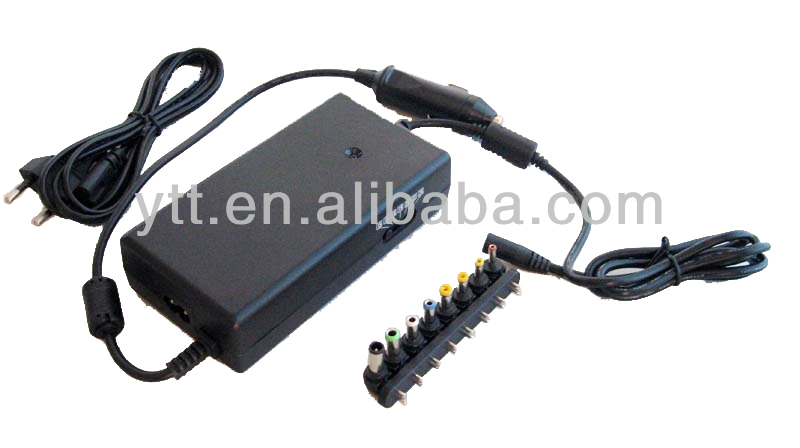 120w Ac Dc In Car Laptop Charger 15-24v