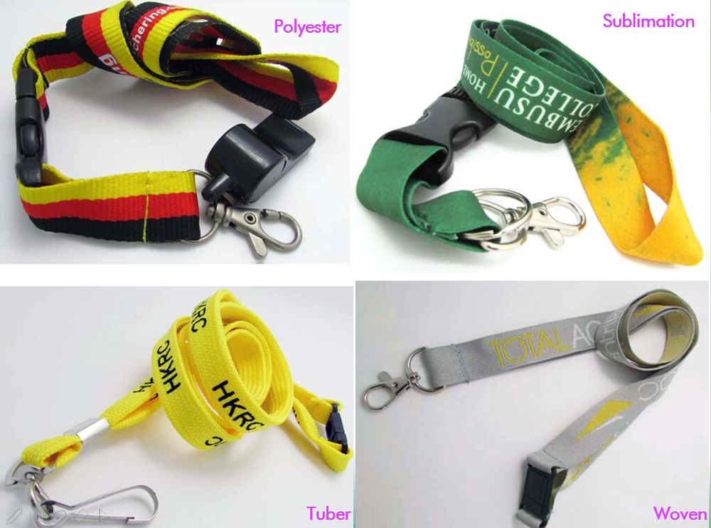 cheap sublimation white lanyard manufacturer in china