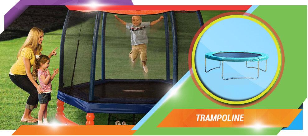 Wonderland Sport Limited Swings Trampoline