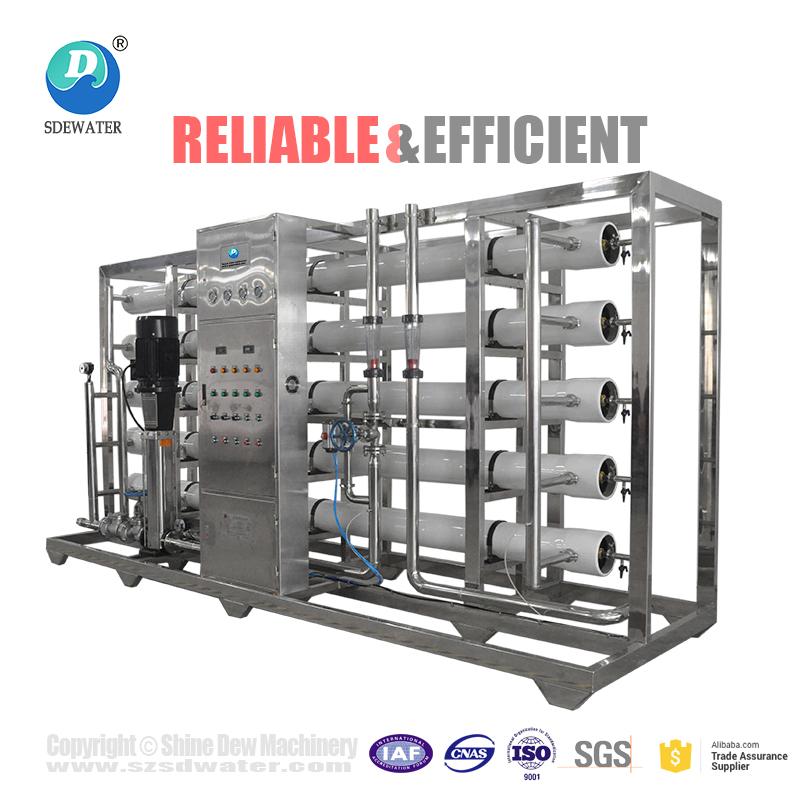 1000lph ro water treatment machine price