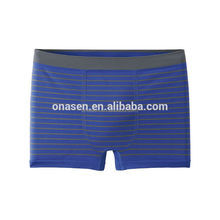 Cheap price man satin underwear panty seamless boxer shorts export thailand