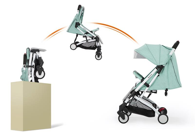 Free Adjustment Wheels Baby Stroller Boys And Girls With Big Thick Wheels Baby Stroller