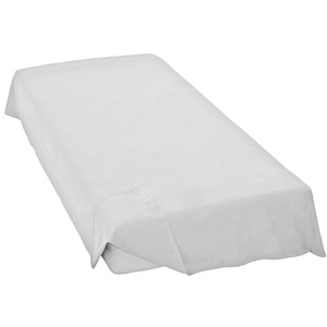 Flat sheet style design mattress protector/mattress cover