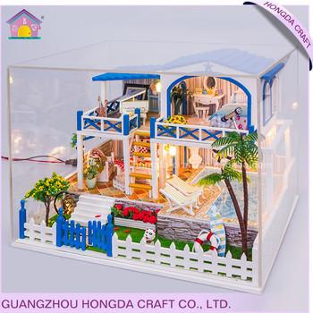 Regalo Muebles De Jardin.Precio De Fabrica Con La Luz Y Muebles Regalo De Cumpleanos Miniatura Jardin Casa Buy Miniatura Jardin Casa Product On Alibaba Com