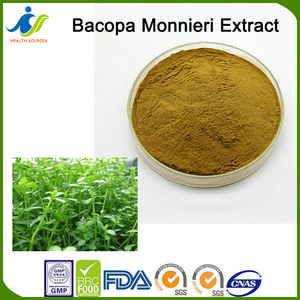 Pure nature Bacopa monnieri Extract 20%,30%,50%,60%