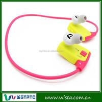 Wireless Stereo Sport Headphone Earphone MP3 Player with FM Radio