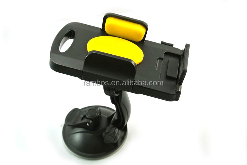 Rotating Universal Phone/Tablet Windshield Car Cradle Bracket Mount for Samsung Note 3 Note 2 LG G3