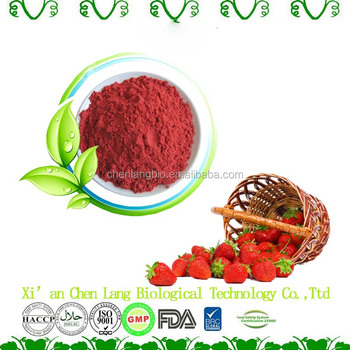 Good Water Soluble Strawberry Extract Strawberry Juice Powder