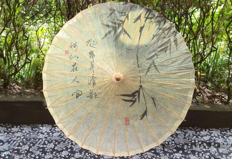 Бамбука Зонтик Высокое Качество Водонепроницаемый Танцы Реквизит Фестиваль Коллекция