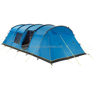 4 Rooms 2 Doors Big Family Outdoor Camping 8 10 Persons Tent