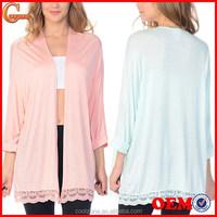 Open front long sleeve women cardigan wholesale crochet cardigan 2015