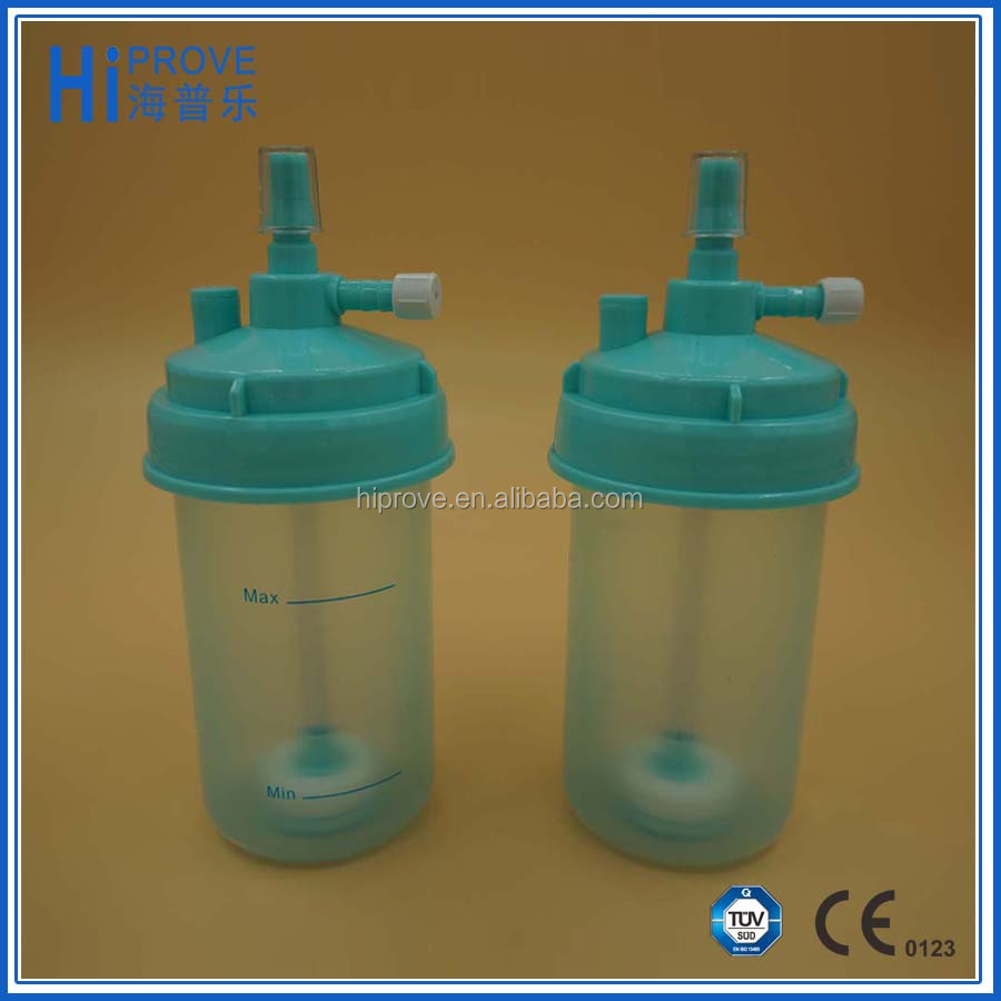 Disposable bottle cap humidifier bottle Medical Humidifier CE/ISO