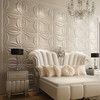 glass 3d embossed art interior wall decoration cartoon wall tile