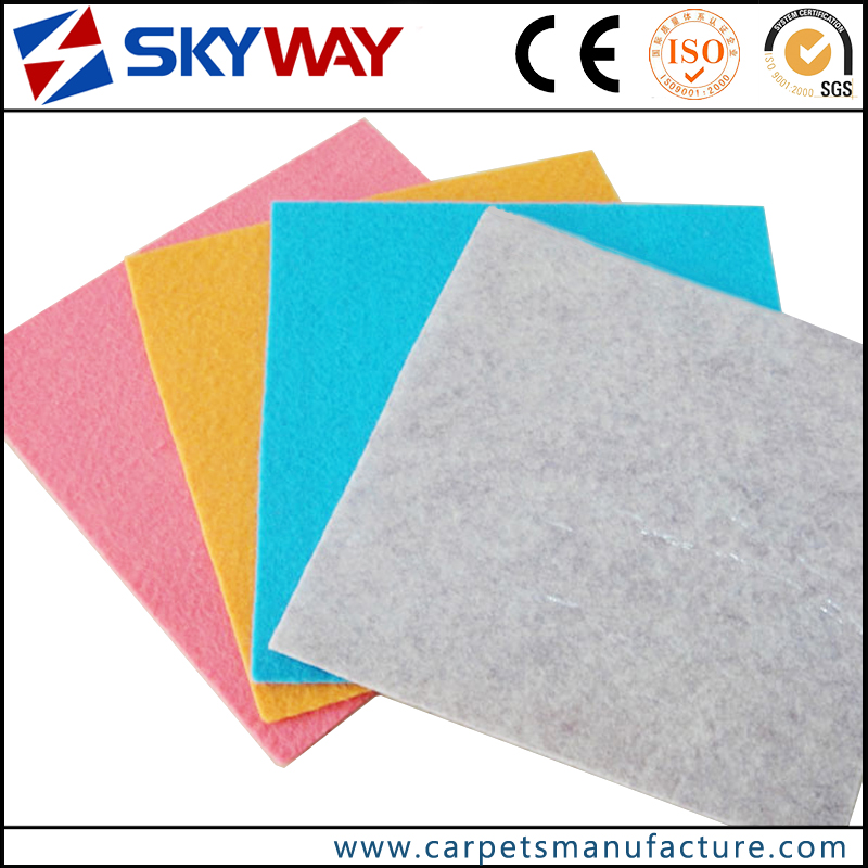 Factory price exhibition floor carpet with film protection