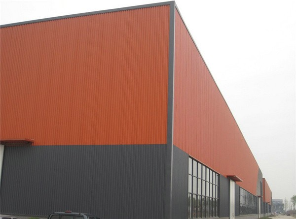 rigid framework steel structures prefabricated workshop/warehouse/building