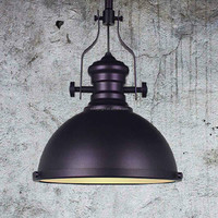 Vintage Industrial Lamp With Black White Brass Purple Color Pendant Lighting