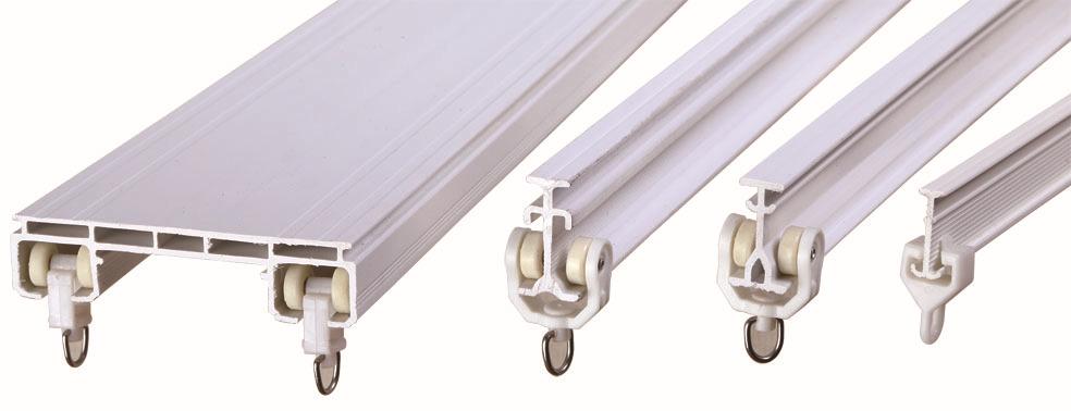 Medical Pvc Rail Plastic Ring Ceiling Mount Hospital Curtain Track ...