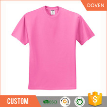 Wholesale unisex t-shirt 100% cotton blank tshirt