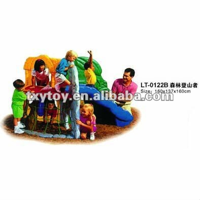 children slide house LT-0122B