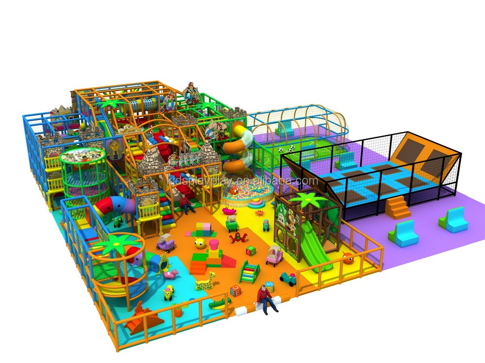 aire de jeux couverte trampoline parc famille center de jeux amusants pour les enfants aire de. Black Bedroom Furniture Sets. Home Design Ideas