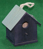 New design custom wood pet cage wood bird house with handle rope