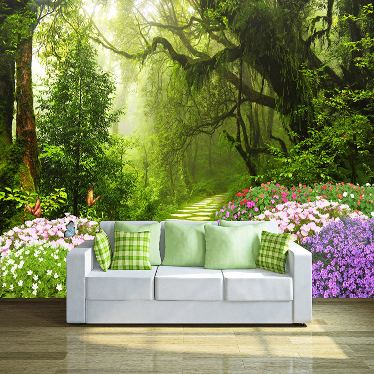 Nature Wallpaper Forest Designs Wall Paper 3d Mural For Home