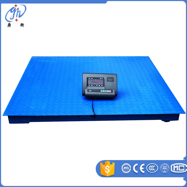 popular 2ton weighting scale digital weighbridge for truck scale