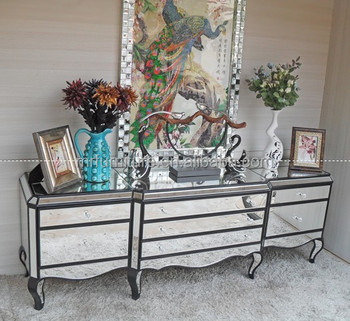 Mirrored Furniture Bedroom Buffet