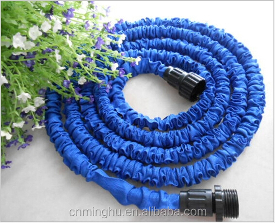 2015 hot selling double latex garden magic hose 100FT