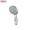 square abs plastic hand held shower head