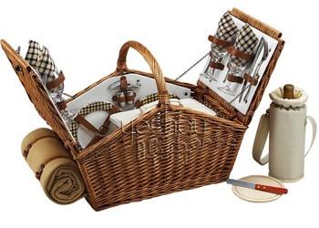 Modern Picnic Basket 4 Person