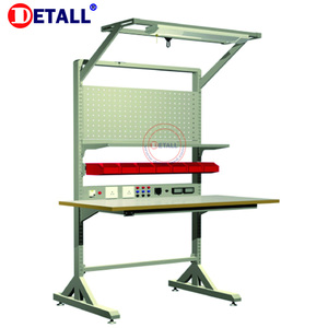 Competitive Price High Quality Stainless Steel Garage Bench Storage Light Duty Esd Workbench For Electronics