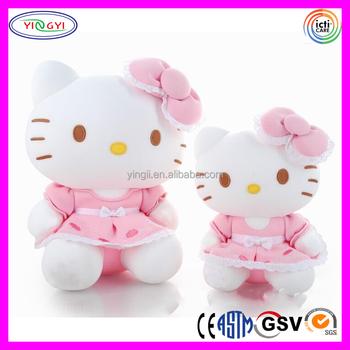 D761 Mini Hello Kitty Ikatan Simpul Gaun Aksesoris Boneka dengan Harga  Murah Mewah Mainan Boneka Hello 25f62045e6