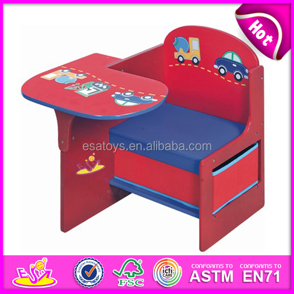 top end wooden kids writing tableblue children table and chair set toy for children