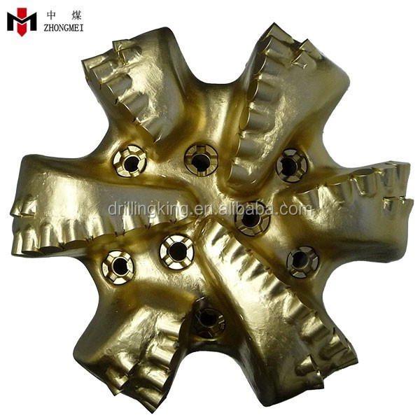 API Matrix Body and Steel Body PDC Drill Bit for Sandstone Drilling
