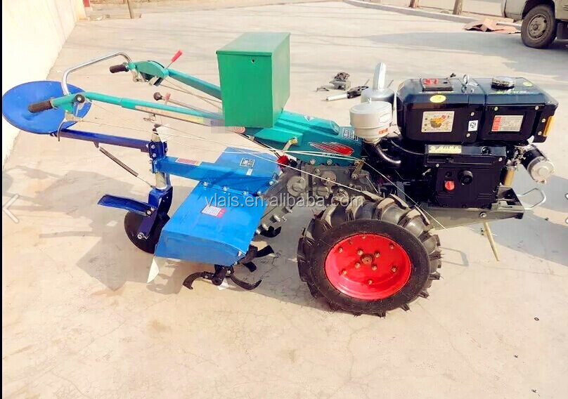Agricultural Machinery Walking Tractor/22hp Diesel Engine Power ...