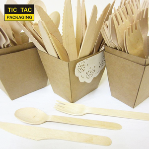Disposable wooden knife cutlery bamboo cutlery