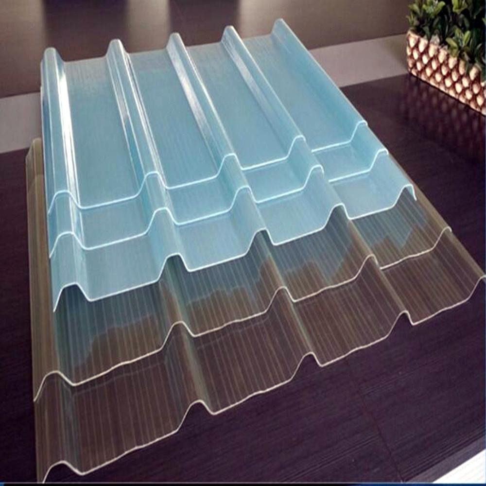 Manufacturer Wholesale Transparent Frp Corrugated Roofing