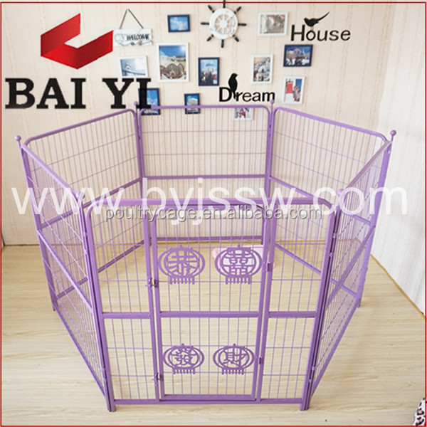 Anping BAIYI Indoor Chain Link Dog Play Fence