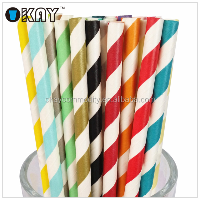 High Quality Paper Straws Commercial At Party City Canada