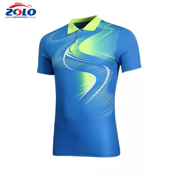 New design custom fashion dry fit sportswear polo shirt custom