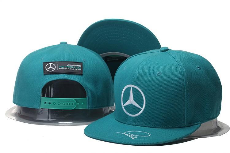 Customized high quality advertisement snap back ferrari for Mercedes benz snapback