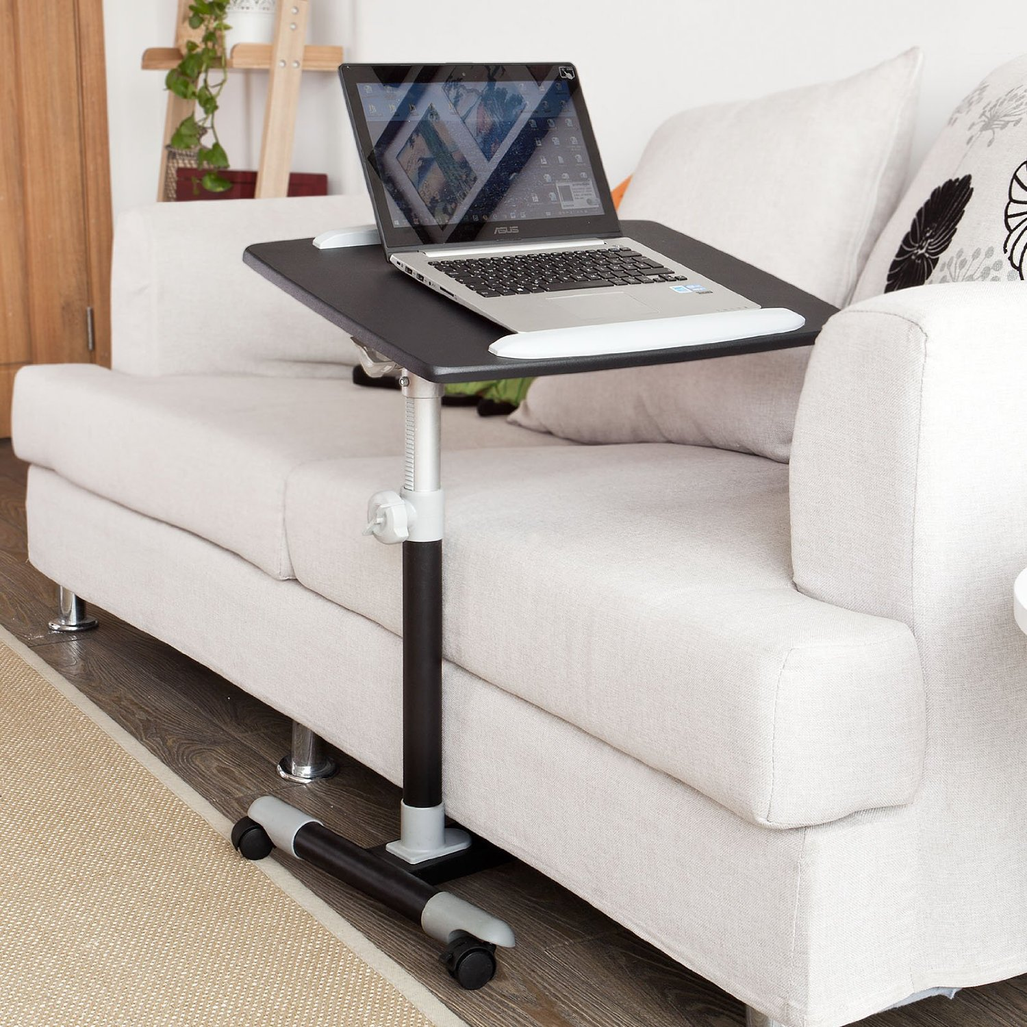 Uitgelezene Buy SoBuy Nursing Home Auto-Touch Overbed Table, Bed Table, Laptop XH-72