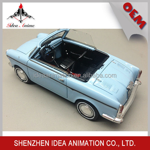 OEM real realistic antique resin car model 1 43 scale collectible