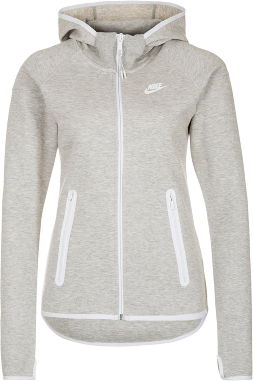 Nike Women's Tech Fleece FZ Hoody Grey 657859-050