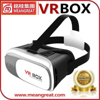 High quality and Best Price VR BOX 2 New Version for 3.5-6 phones 3D Helmet Glasses